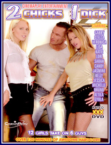 2 Chicks 1 Dick Porn DVD