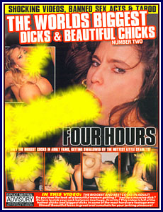 World's Biggest Dicks and Beautiful Chicks 2 Porn DVD