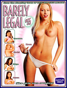 Barely Legal 55 Porn DVD
