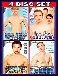 Hot Gay Stars 2 4 Pack