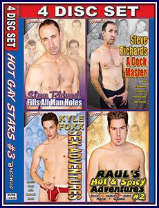 Hot Gay Stars 3 4 Pack