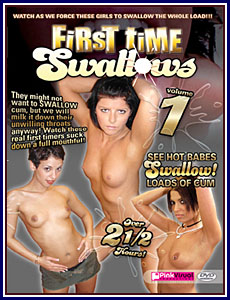 First Time Swallows Porn DVD