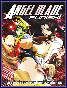 Angel Blade Punish Porn DVD