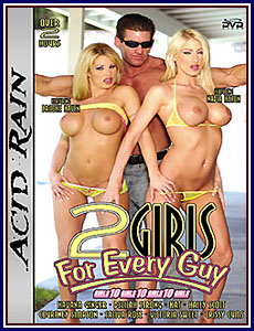 2 Girls For Every Guy Porn DVD