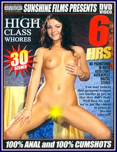 High Class Whores Porn DVD