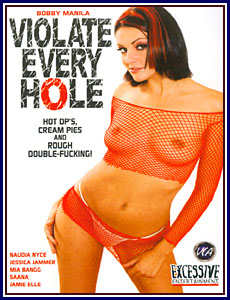 Violate Every Hole Porn DVD