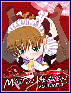 Maid in Heaven Porn DVD