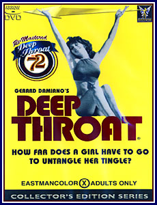 Deep Throat Porn DVD