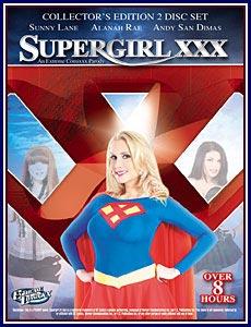 Supergirl XXX Porn DVD