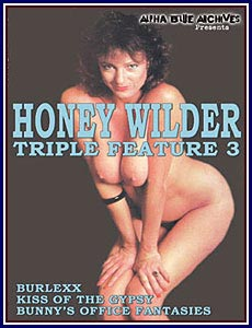 Honey Wilder Triple Feature 3 Porn DVD