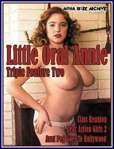 Little Oral Annie Triple Feature 2 Porn DVD