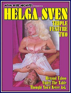Helga Sven Triple Feature 2 Porn DVD