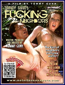 Tommy Gunn's Fucking Neighbors Porn DVD