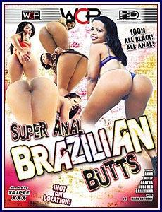 Super Anal Brazilian Butts Porn DVD