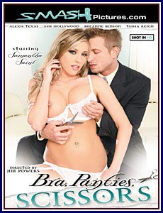 Bra Panties Scissors Porn DVD