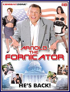 Arnold The Fornicator Box Cover Art.