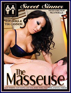The Masseuse Porn DVD