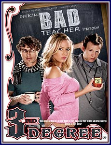 Official Bad Teacher Parody Porn DVD