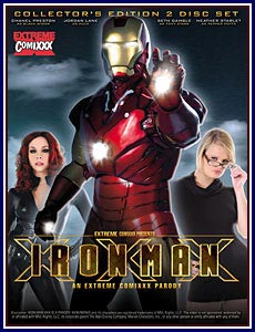 Iron Man XXX Porn DVD
