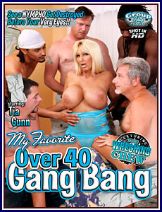 My Favorite Over 40 Gang Bang Porn DVD