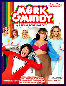 Mork & Mindy: A Dream Zone Parody Porn DVD
