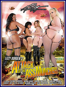 Attack Of The AssMunchers Porn DVD