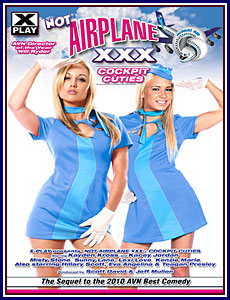Not Airplane XXX: Cockpit Cuties Porn DVD