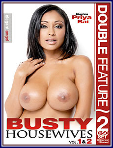 Busty Housewives 1 and 2 Porn DVD