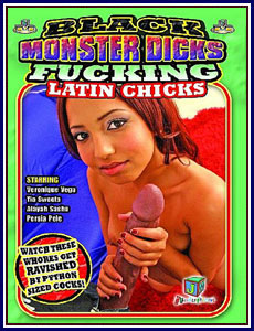 Black Monster Dicks Fucking Latin Chicks Porn DVD