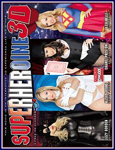 Super Heroine 3D Porn DVD