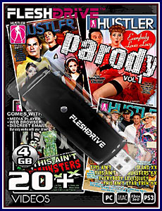Parody 4GB FleshDrive Porn DVD