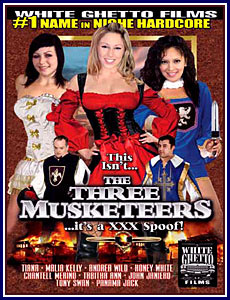 Three musketeers adult