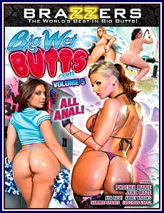Big Wet Butts.com 5 Porn DVD