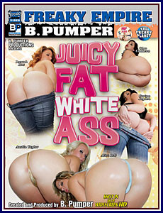 Juicy Fat White Ass Porn DVD