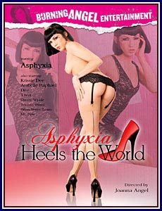 Asphyxia Heels The World Porn DVD