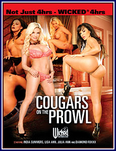 Cougars On The Prowl Porn DVD
