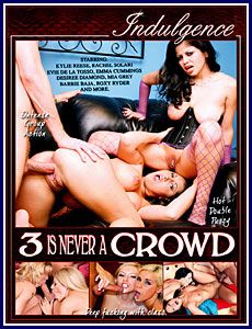 3 Is Never A Crowd Porn DVD