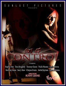 Out of Control Porn DVD