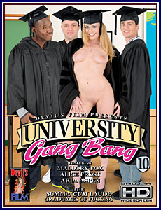 University Gang Bang 10 Porn DVD