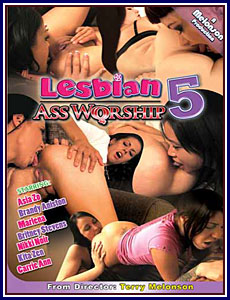 Lesbian Ass Worship 5 Porn DVD