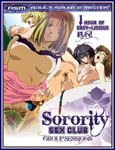 Sorority Sex Club: Group Sessions Porn DVD