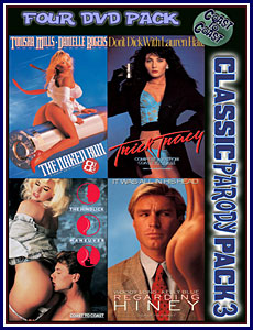 Classic Parody 3 4 Pack Porn DVD