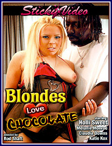 Blondes Love Chocolate Porn DVD