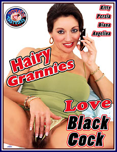 Hairy Grannies Love Black Cock Porn DVD