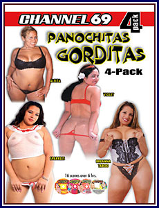 Panochitas Gorditas 4 Pack Porn DVD