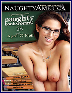 Naughty Book Worms 26 Porn DVD
