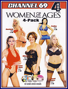 Women of All Ages 4 Pack Porn DVD