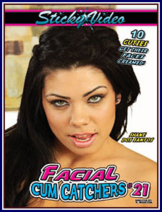 Facial Cum Catchers 21 Porn DVD
