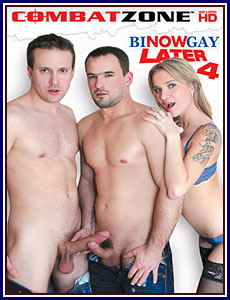 Bi Now Gay Later 4 Porn DVD