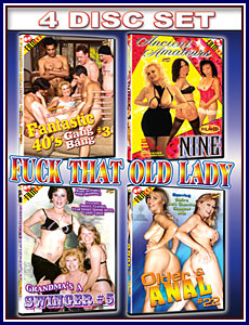 Fuck That Old Lady 4 Pack Porn DVD